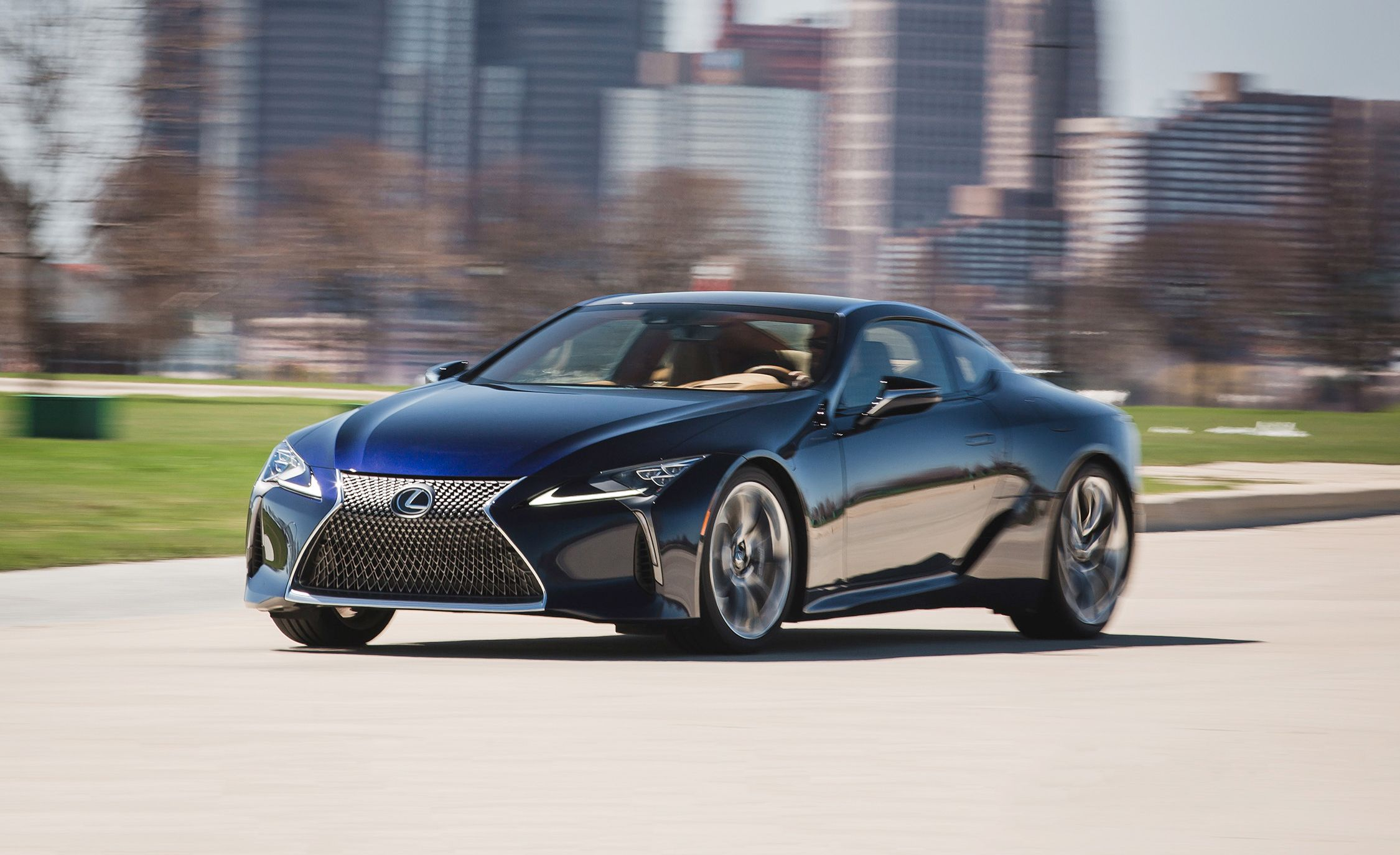 2019 Lexus Lc Reviews Price Photos And Specs Car Driver