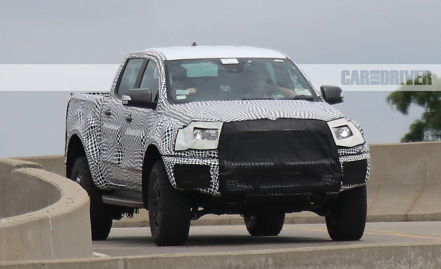 """2019 Ford Ranger """"Raptor"""" (spy photo) - Slide 2"""