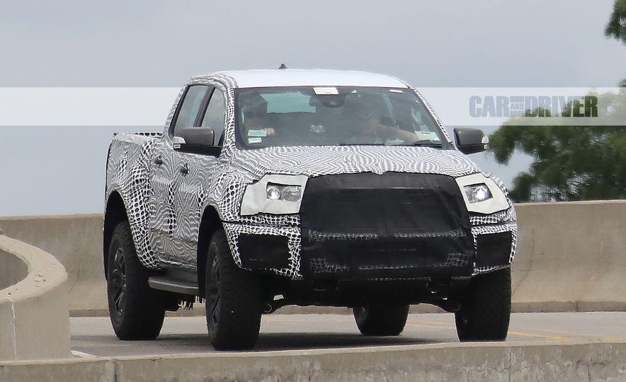 """2019 Ford Ranger """"Raptor"""" (spy photo) - Slide 3"""