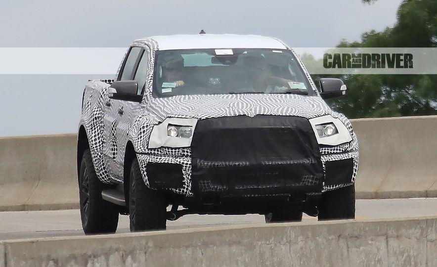 """2019 Ford Ranger """"Raptor"""" (spy photo) - Slide 4"""