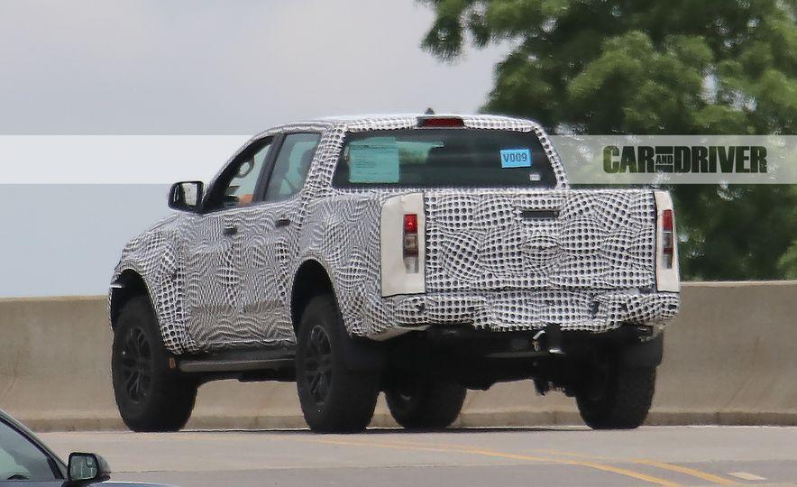"""2019 Ford Ranger """"Raptor"""" (spy photo) - Slide 7"""