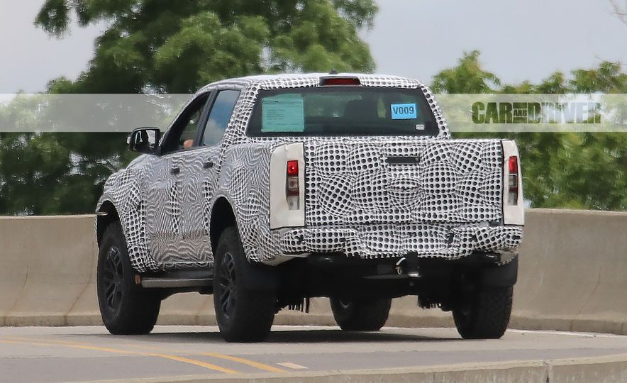 """2019 Ford Ranger """"Raptor"""" (spy photo) - Slide 8"""