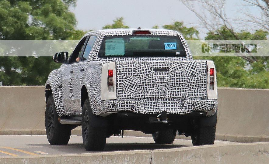 """2019 Ford Ranger """"Raptor"""" (spy photo) - Slide 11"""