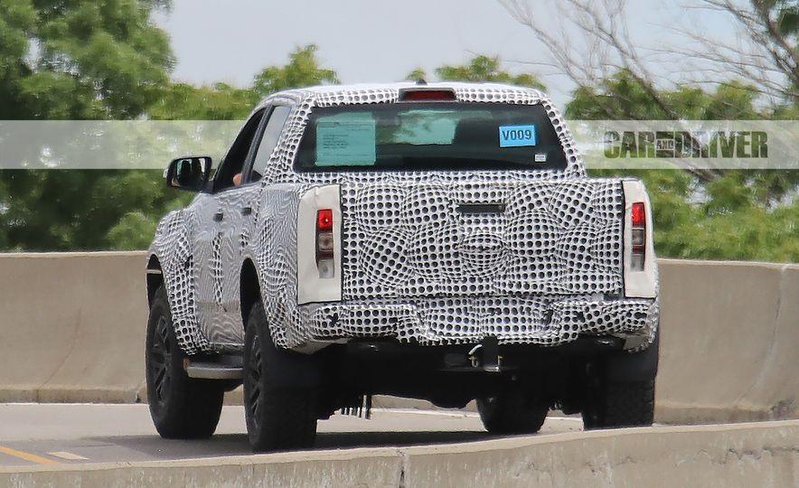 """2019 Ford Ranger """"Raptor"""" (spy photo) - Slide 12"""