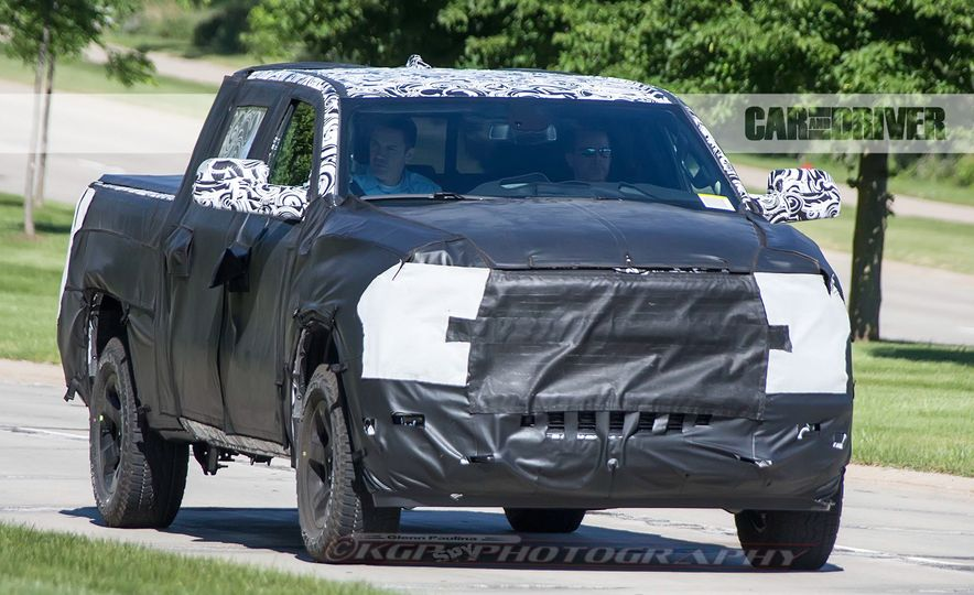 2019 Ram 1500 (spy photo) - Slide 1