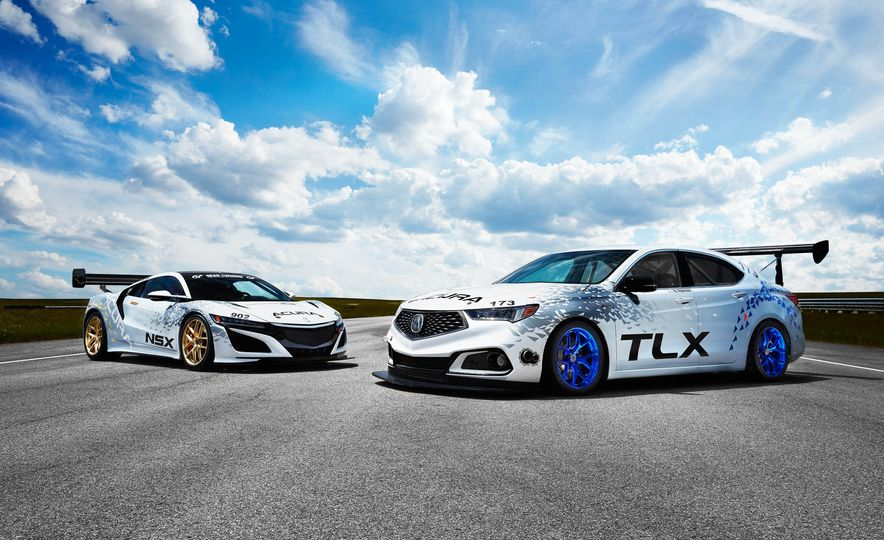 Acura TLX A-Spec and Acura NSX - Slide 1