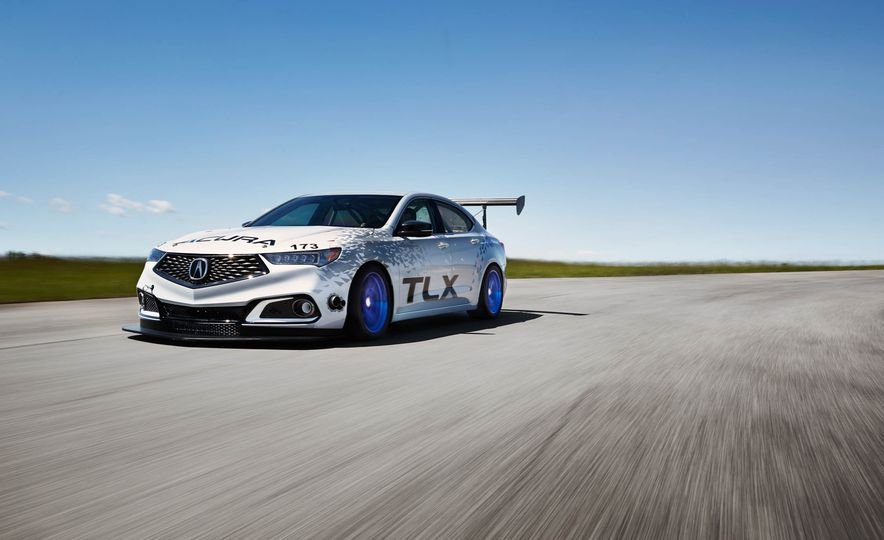Acura TLX A-Spec and Acura NSX - Slide 5