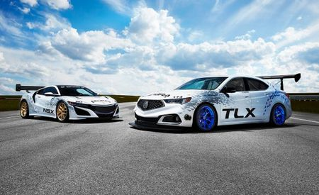 Rocky Mountain High: 500-HP Acura TLX and Aero-Clad Acura NSX Prepare to Scale Pikes Peak