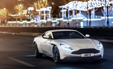 Eight into 11 Will Go: Aston Martin Debuts AMG V-8 in DB11