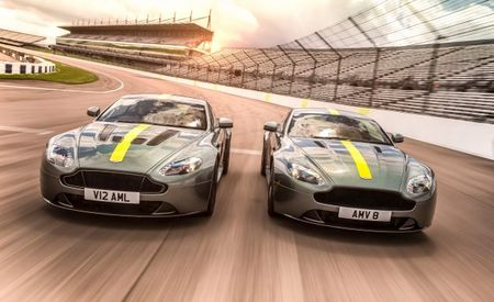Aston Martin Vantage AMR Editions Mark the End of a Long Farewell Tour
