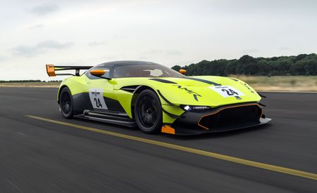 Aston Martin Racing's Vulcan Pro Track Pack Begs to Play Lap-Time Limbo