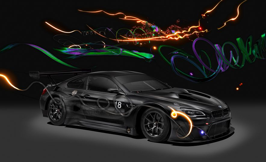 BMW M6 GT3 Art Car - Slide 1