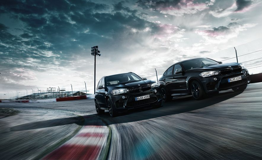 BMW X5M and X6M Black Fire - Slide 1