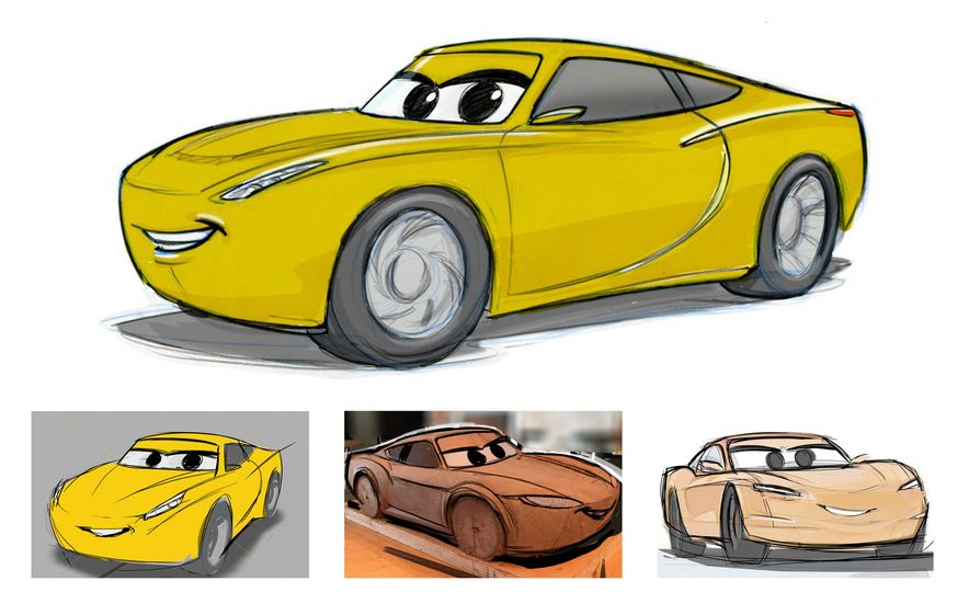 """Junior Moon and Sally's Mustache: Inside Pixar's Pursuit of Authenticity in the """"Cars"""" Films - Slide 14"""