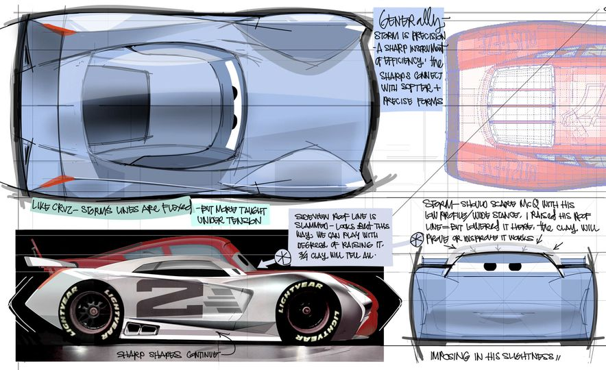 """Junior Moon and Sally's Mustache: Inside Pixar's Pursuit of Authenticity in the """"Cars"""" Films - Slide 15"""