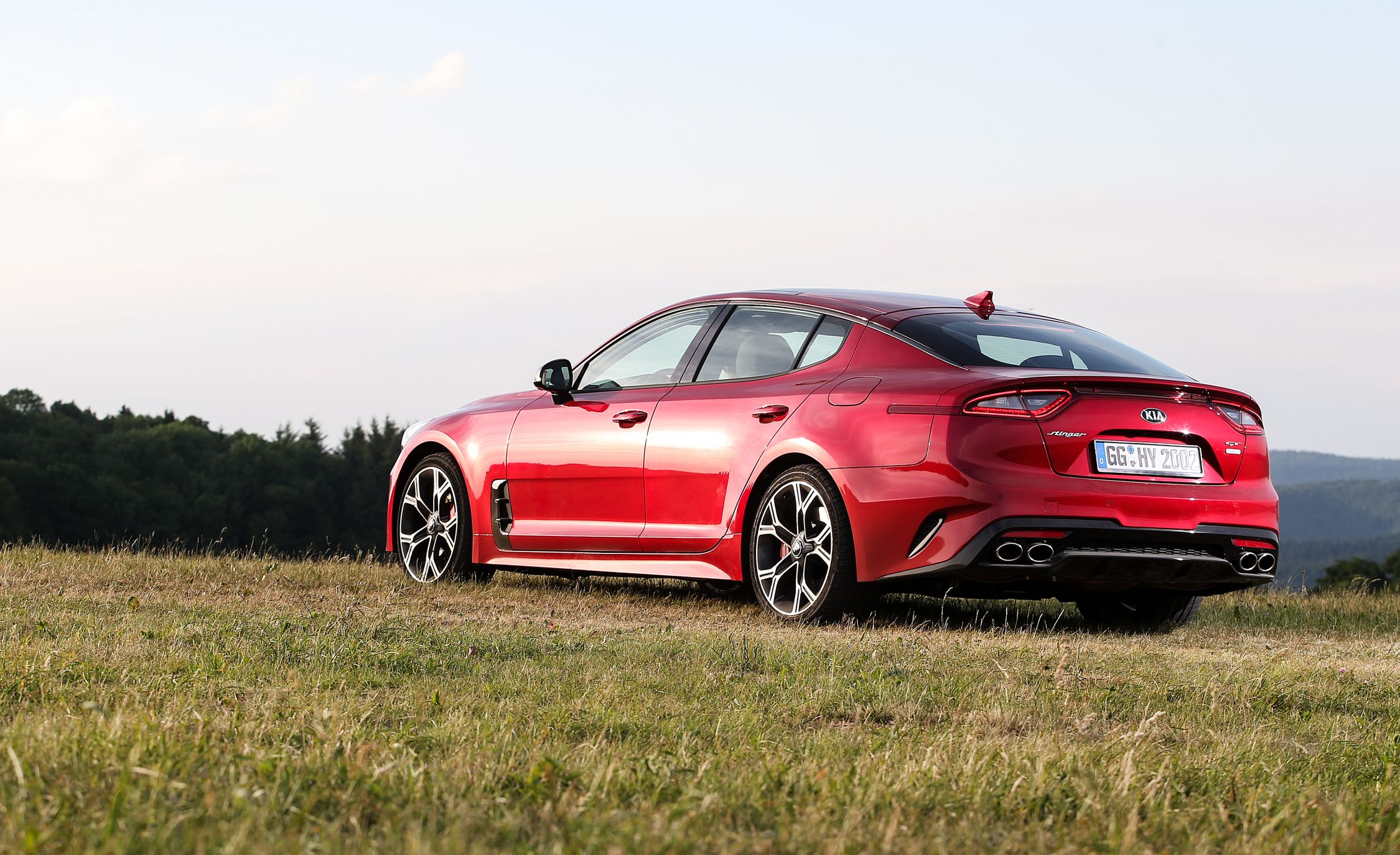 Kia Stinger Reviews Price Photos And Specs Car Go Back Gt Gallery For Simple Electric Circuit Kids Driver