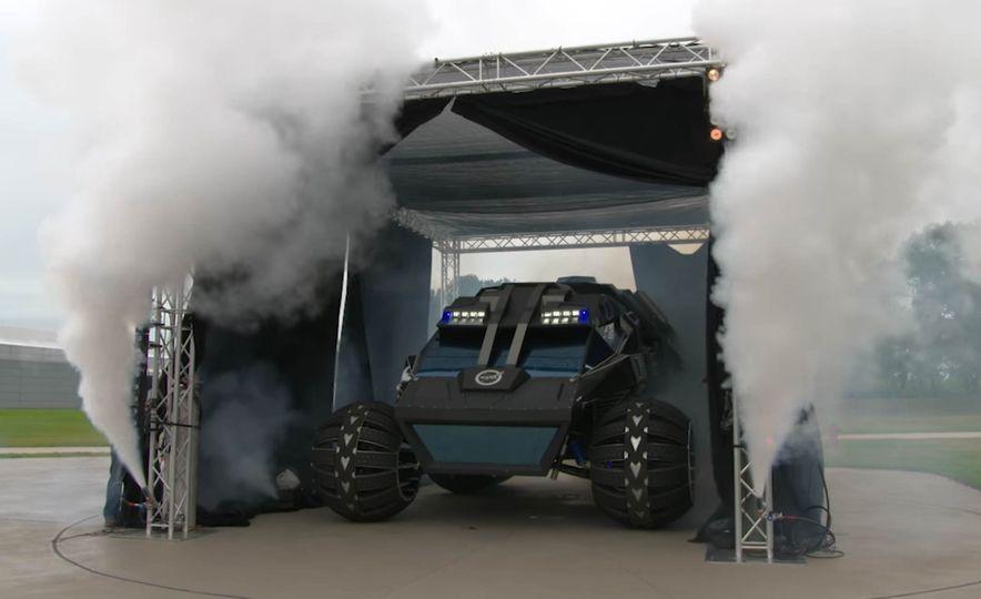 Mars Rover concept - Slide 1