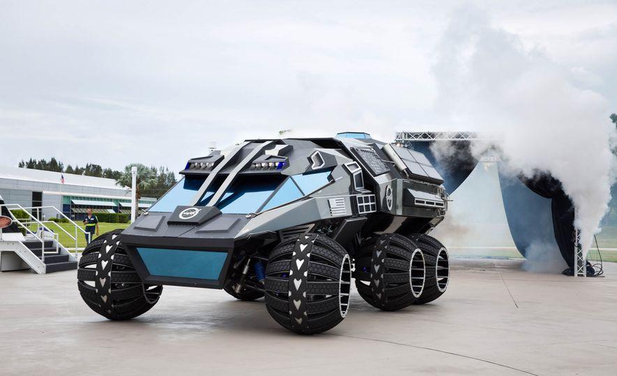 Mars Rover concept - Slide 2