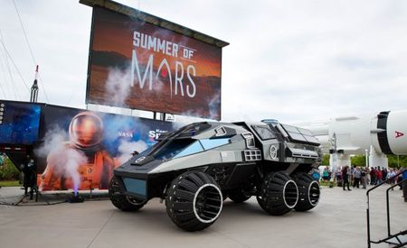 Mars Car: Manned Mars Rover Concept Debuts at Kennedy Space Center