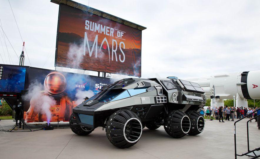 Mars Rover concept - Slide 3