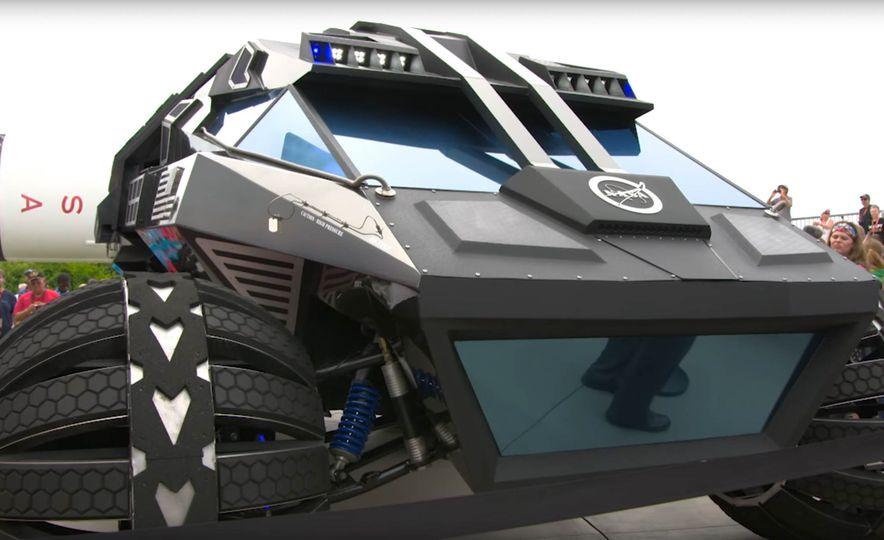 Mars Rover concept - Slide 9