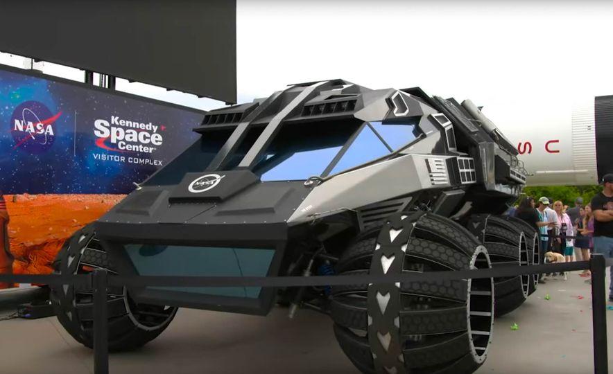 Mars Rover concept - Slide 10
