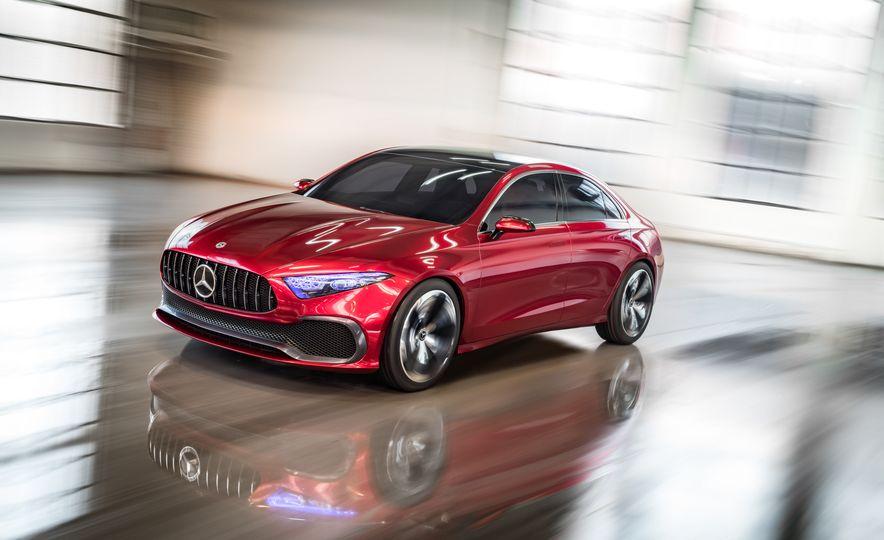 Mercedes-Benz Concept A Sedan - Slide 1