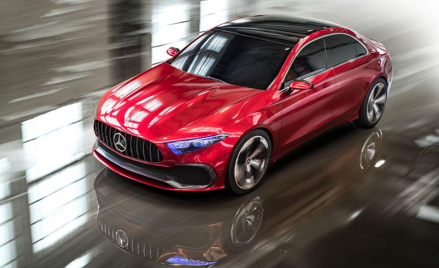 Mercedes-Benz Concept A Sedan - Slide 2