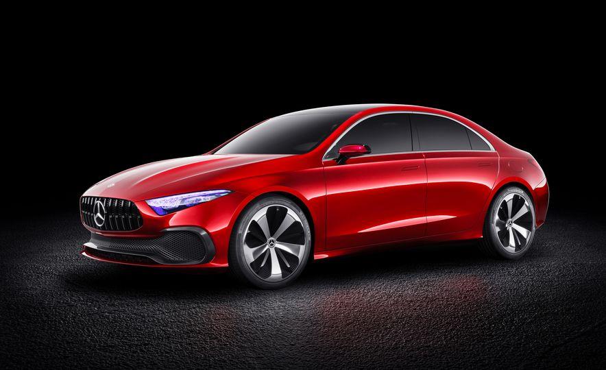 Mercedes-Benz Concept A Sedan - Slide 6