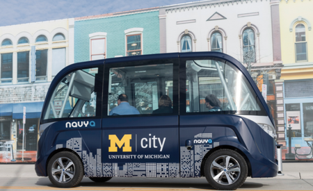 Driverless Shuttle Buses Will Transport Students on Michigan Campus [Video]