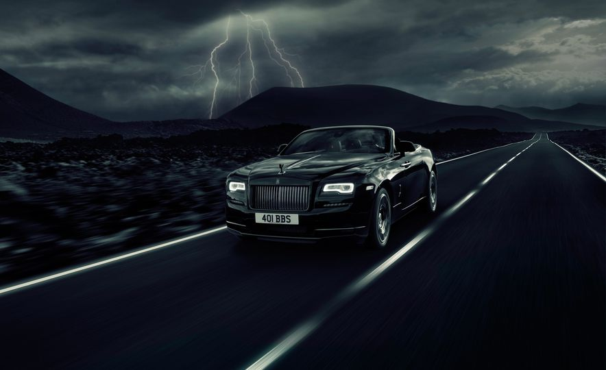 Rolls-Royce Dawn Black Badge edition - Slide 1