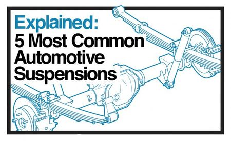 Explained: The Five Most Common Automotive Suspensions