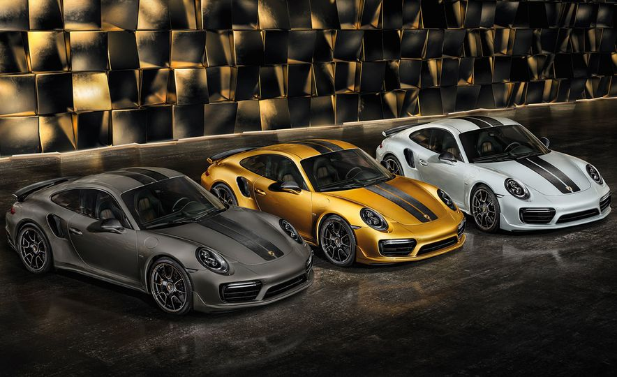 Porsche 911 Turbo S Exclusive Series - Slide 1