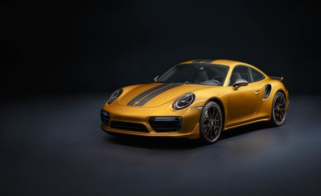 607 Horsepower, Maximum Luxury: Porsche's New 911 Turbo S Exclusive Series Coupe