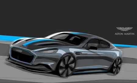 All-Electric Aston Martin RapidE Headed for Production in 2019 with New Partner Williams