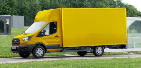 Please, Herr Postman, Is There a Ford Transit EV Van for Me?