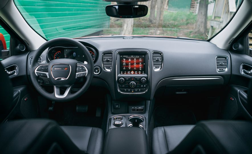 2017 Mazda CX-9 Signature AWD, 2017 GMC Acadia Denali AWD, 2018 Volkswagen Atlas SEL Premium 4MOTION, 2017 Dodge Durango GT AWD, and 2017 Honda Pilot Elite AWD - Slide 22