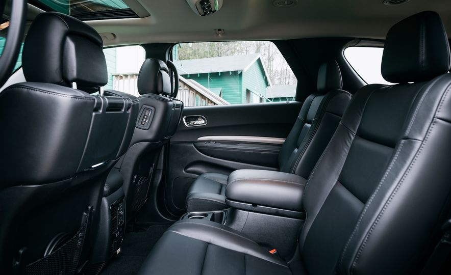 2017 Mazda CX-9 Signature AWD, 2017 GMC Acadia Denali AWD, 2018 Volkswagen Atlas SEL Premium 4MOTION, 2017 Dodge Durango GT AWD, and 2017 Honda Pilot Elite AWD - Slide 24