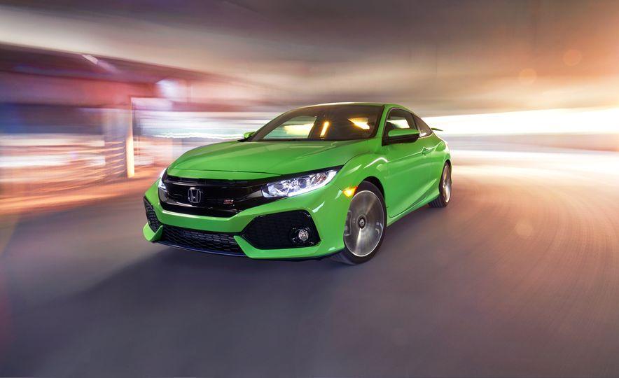 2017 Honda Civic Si coupe - Slide 1