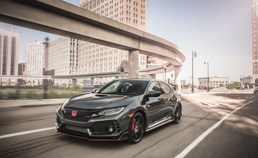 Against the Wind: All the 2017 Honda Civic Type R's Aero Bits Explained - Slide 1