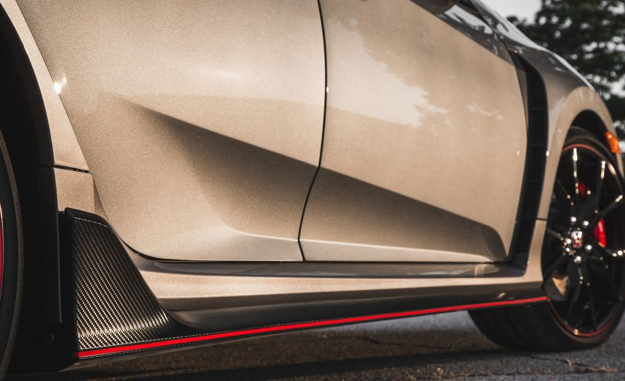 Against the Wind: All the 2017 Honda Civic Type R's Aero Bits Explained - Slide 10
