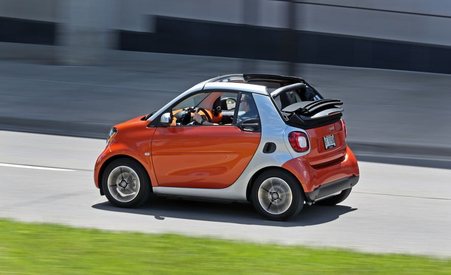 2017 Smart Fortwo cabriolet - Slide 16