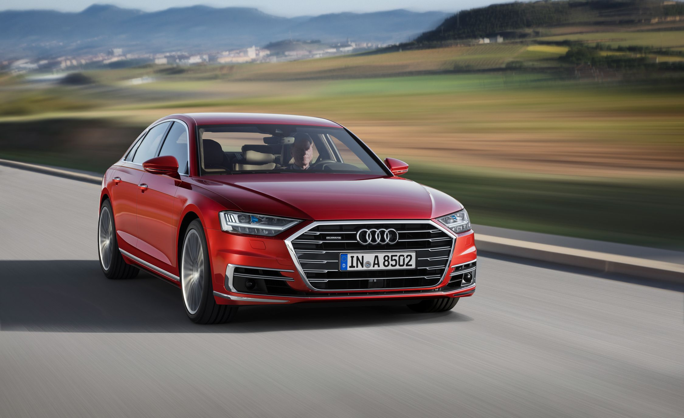 2019 Audi A8 Flagship Floats On Active Suspension