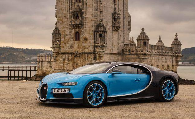 Bugatti chiron mpg