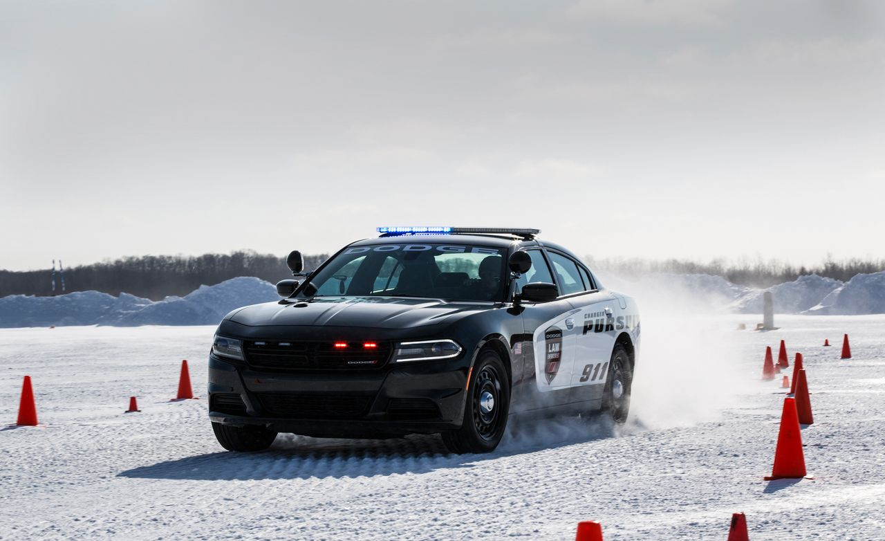 2018 dodge charger pursuit protection package placement