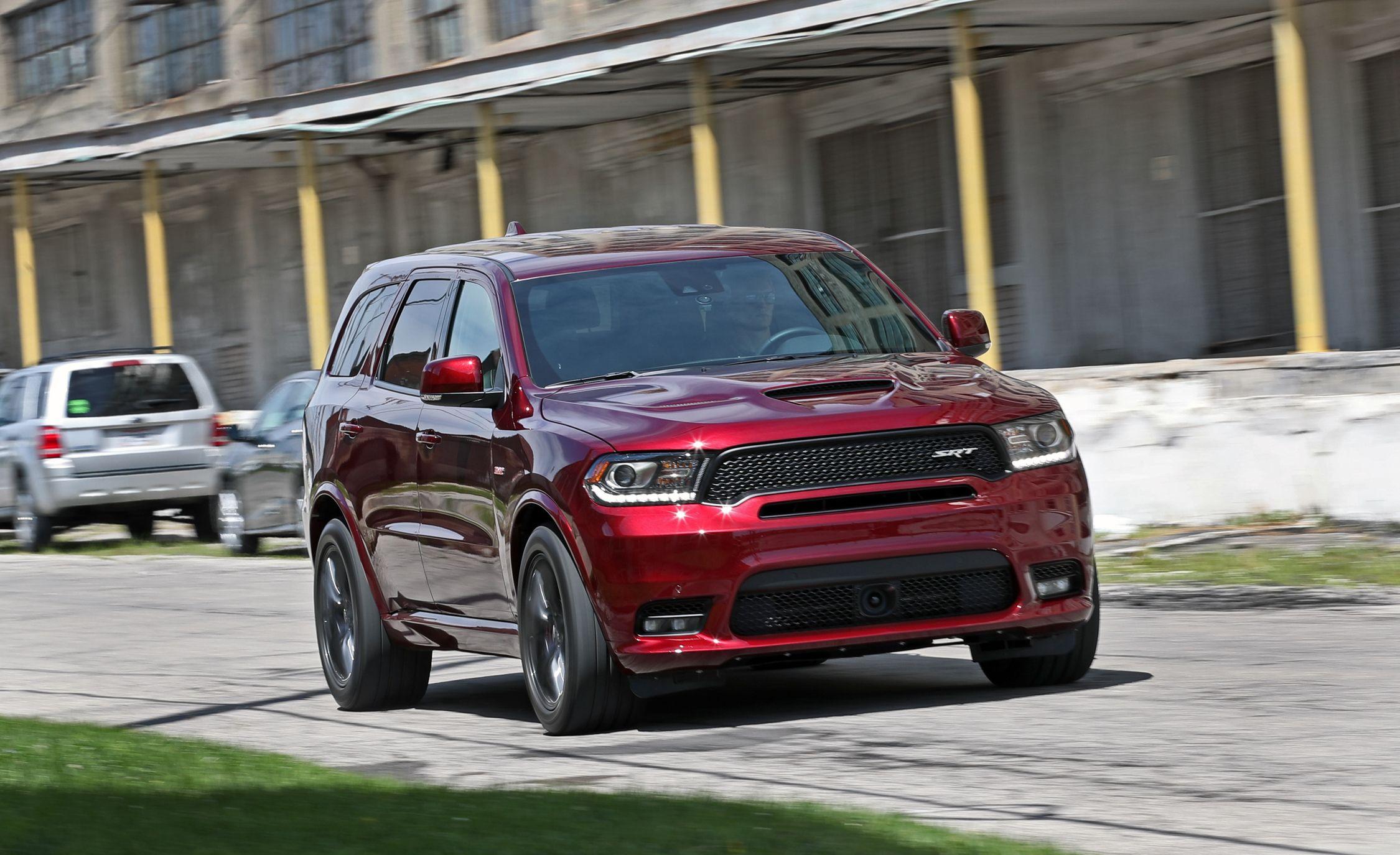 2019 Dodge Durango Srt Reviews Price Photos And Specs Car Driver