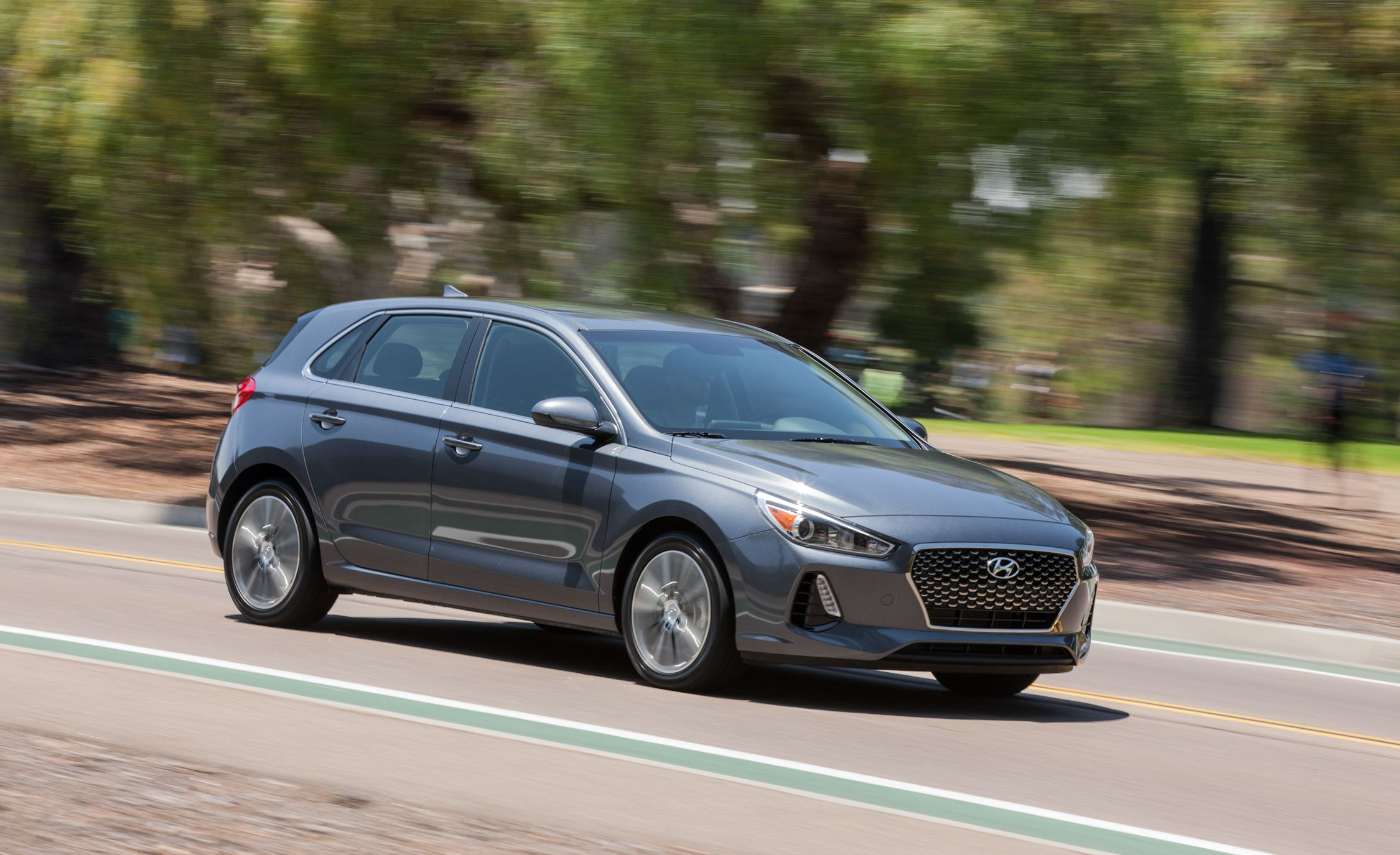 2019 Hyundai Elantra Gt Reviews Price Photos And Specs Car Driver