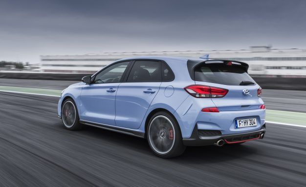 Hyundai I30n >> The I30n Is Hyundai S First True Hot Hatchback News Car And Driver