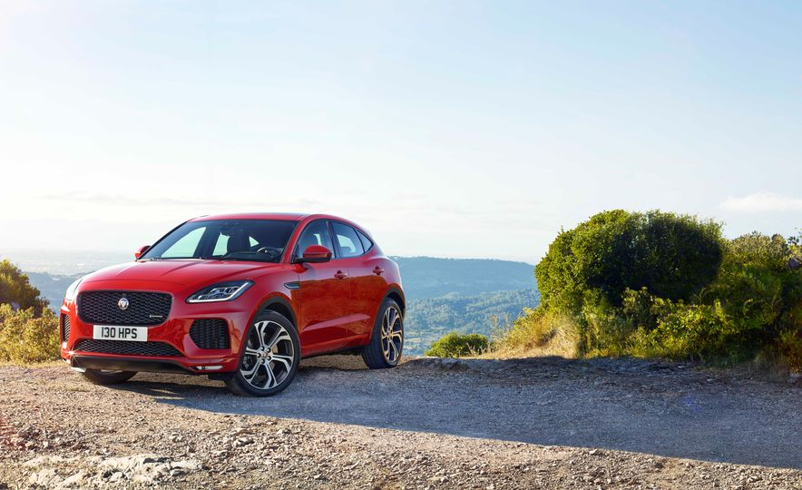 2018 Jaguar E-Pace - Slide 9