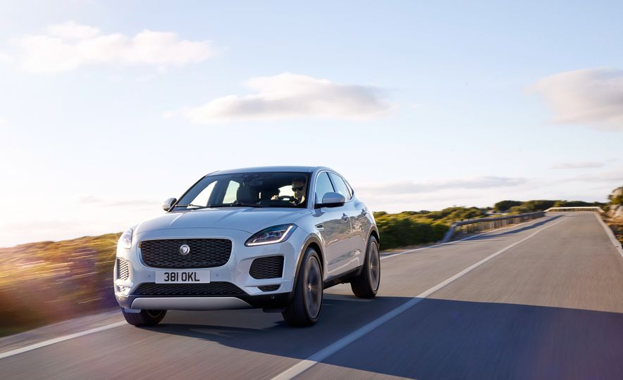 2018 Jaguar E-Pace - Slide 1